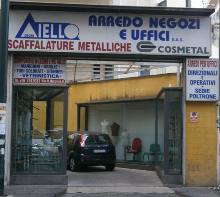 Aiello Arredo Negozi - Napoli